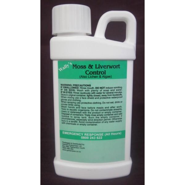 Wallys Moss & Liverwort control 200 mls
