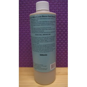 Wallys Silicon plus Boron Soil Drench 500 mls | Pest Control | Disease Control | CELL STRENGTHING OF PLANTS | Wallys Hydro Flow Growing materials