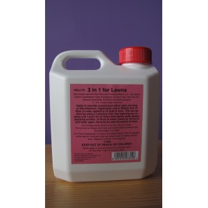 WALLYS 3 in 1 for Lawns 1 litre | Pest Control | LAWN PRODUCTS