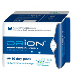 Drion Ultra-absorbent Day Pads Pack of 10 | Health Products | Natural Panty liners and menstrual pads
