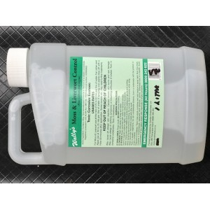 Wallyts Moss & Liverwort Control 1 litre   Moss, Liverwort, lichen and slime controls   Pest Control   LAWN PRODUCTS