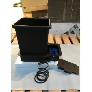 15 litre Hydro Flow Pot System | Wallys Hydro Flow Growing materials