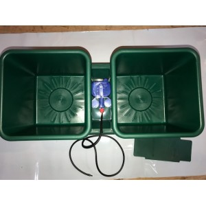 Twin Pot Hydro Flow (8.5 litres each)   | Wallys Hydro Flow Growing materials