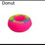 Donut Bath Bomb 160g aprox