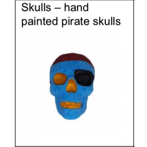 Pirate Skulls | LUXURY BATH BOMBS