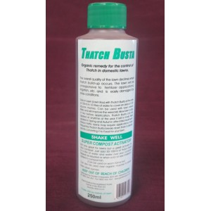 Wallys Thatch Busta 250 mls | Plant Nutrition | Misc | Soil Pathogen suppression | LAWN PRODUCTS